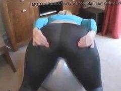(Name?) Big Ass in Yoga Pants Talking Dirty