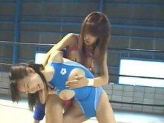 Wrestling: Pro-Style Japanese Lesbian Wrestling