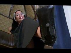 Nuns heels worship