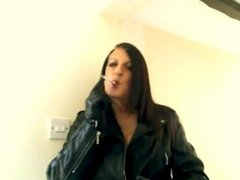 smoking leather gloves melissa