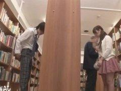 Japanese Man Masturbates in Library 2