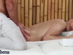 Hot pornstar hardcore with massage