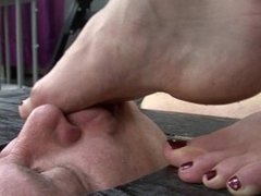 rough feet face trample
