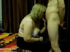 Wife Loves Draining Cock