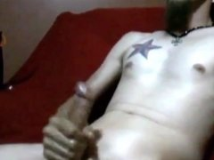 Massive Cumshot All Over My Chest