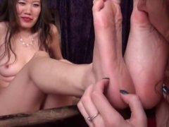 Sexy Asian Soles get Worshipped