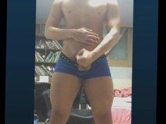 Korean muscle hunk