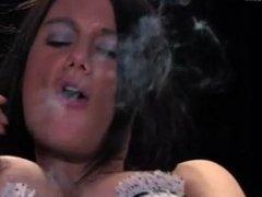 Ellena Simmons smoking sexy
