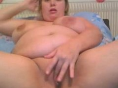 Bbw with huge tits on webcam