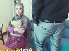 Arab Slut Looking For Job Ends Up Fucking For Money