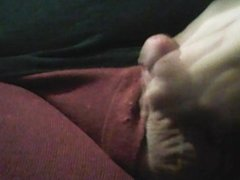 small chubs small dick cums