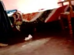 Girl caught naked in hidden cam