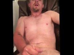 Sexy young guy jerk off cum shot