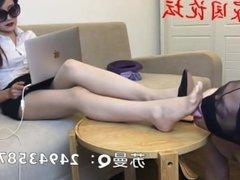Beautiful Chinese Foot Mistress