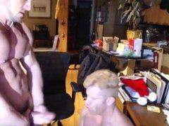 Hunks fucking on cam