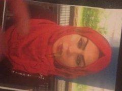 Cum on turkish hijab photo