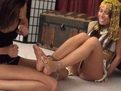 Lesbian foot fetish HD 15