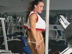Denise Masino GYM HEAT4 Scene 8. Denise works legs