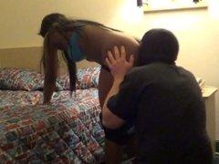 Face Fart Slave gets punsihed Ebony Bunny