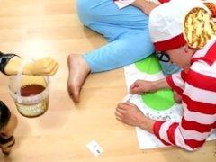 Three Waldos Play Twister but it escalates