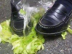 food crush lettuce