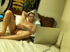 handjob in bed