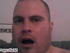 Fat man farting fetish gay burp cock vibration