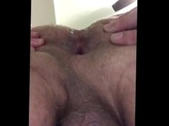 my hole being bred
