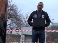 Takevan - Mea Melone hunting guys on the street and get creampie from one