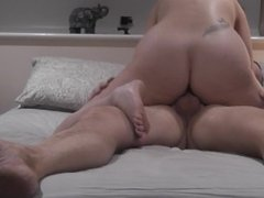 sex with my hubby different positions and cum inside me