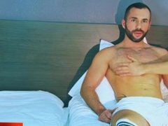 Grego, innocent delivery guy serviced his big cock by a guy!