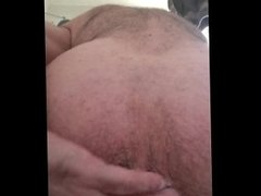 CLEANING A HAIRY MAN-CUNT