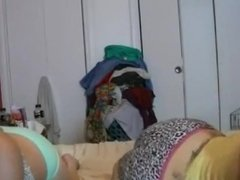 Two girls fart