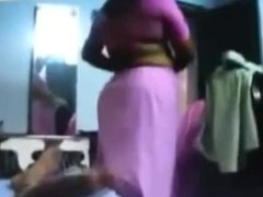 Neighbour Aunty Removing Saree And Giving Handjob indian desi indian cumsho