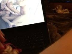 Fapping to Bonnie & Kleio Cumming on Panties!!!! VERY HIGH QUALITY VID!!!