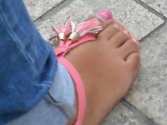 pieds d'Orléans ,un joli jeu d'orteils
