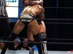Super pro-wrestling action as Sammy Callahan takes it to stud boy Ricochet