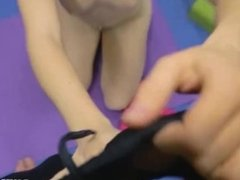 Cute redhead teen Alice Green giving a good POV blowjob