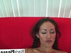 Interracial POV fucking with Dawn Iris