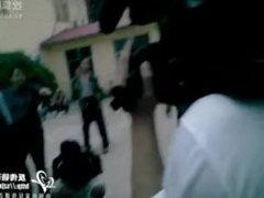 women arrested handcuffed