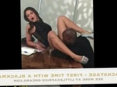 Backstage - My first time with a BLACK MAN - Little Caprice