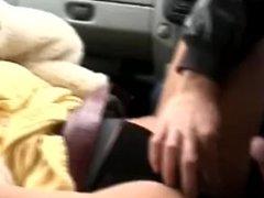 Woman in fur coat fucked hard