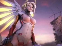 "[60FPS] ""Handclap"" - An Overwatch HMV ft. Mercy [REVISED EDITION]"
