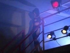Japanese lesbians wrestling 3
