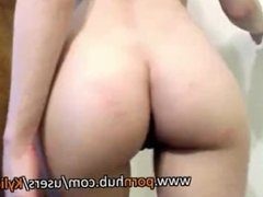 Slutty Teen Talks Dirty While Showing Off Her Big Ass And Tight Pussy