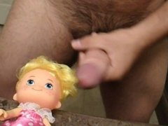 Cumming On Small Doll's Face! Special Request From VIP Fan (Cum Shot)