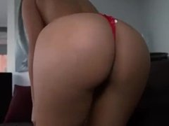 Gorgeous big booty latina maid have sex with her client