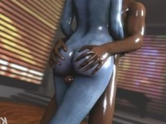 mass effect Liara foreplay before sex part 1/3