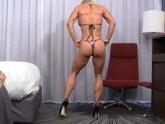 Ginger Martin muscle dance
