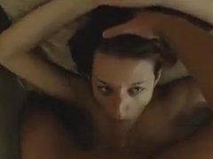 Interracial Fucking anale profonde de couple avec éjaculation